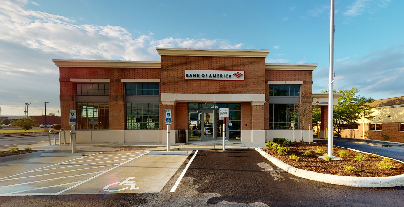 Bank of America financial center with drive-thru ATM   2336 Stringtown Rd, Grove City, OH 43123