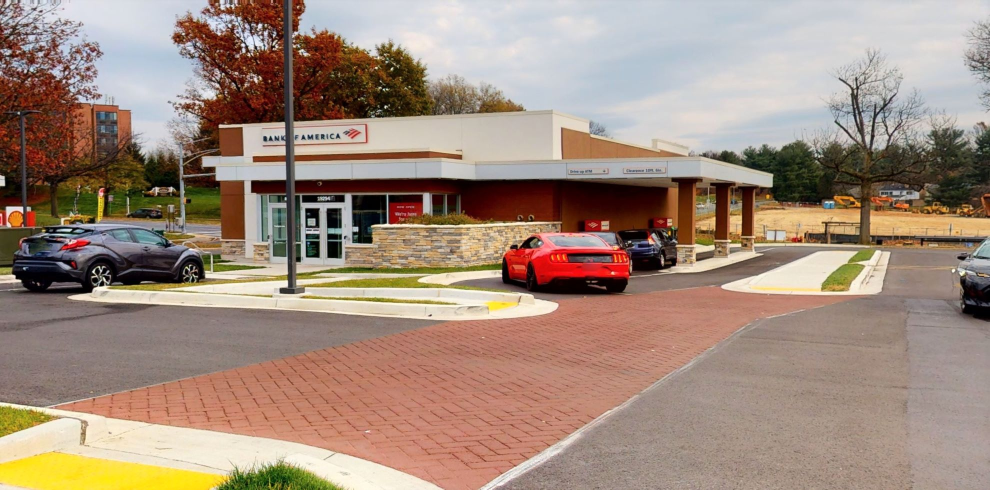 Bank of America financial center with drive-thru ATM   19294 Montgomery Village Ave, Montgomery Village, MD 20886