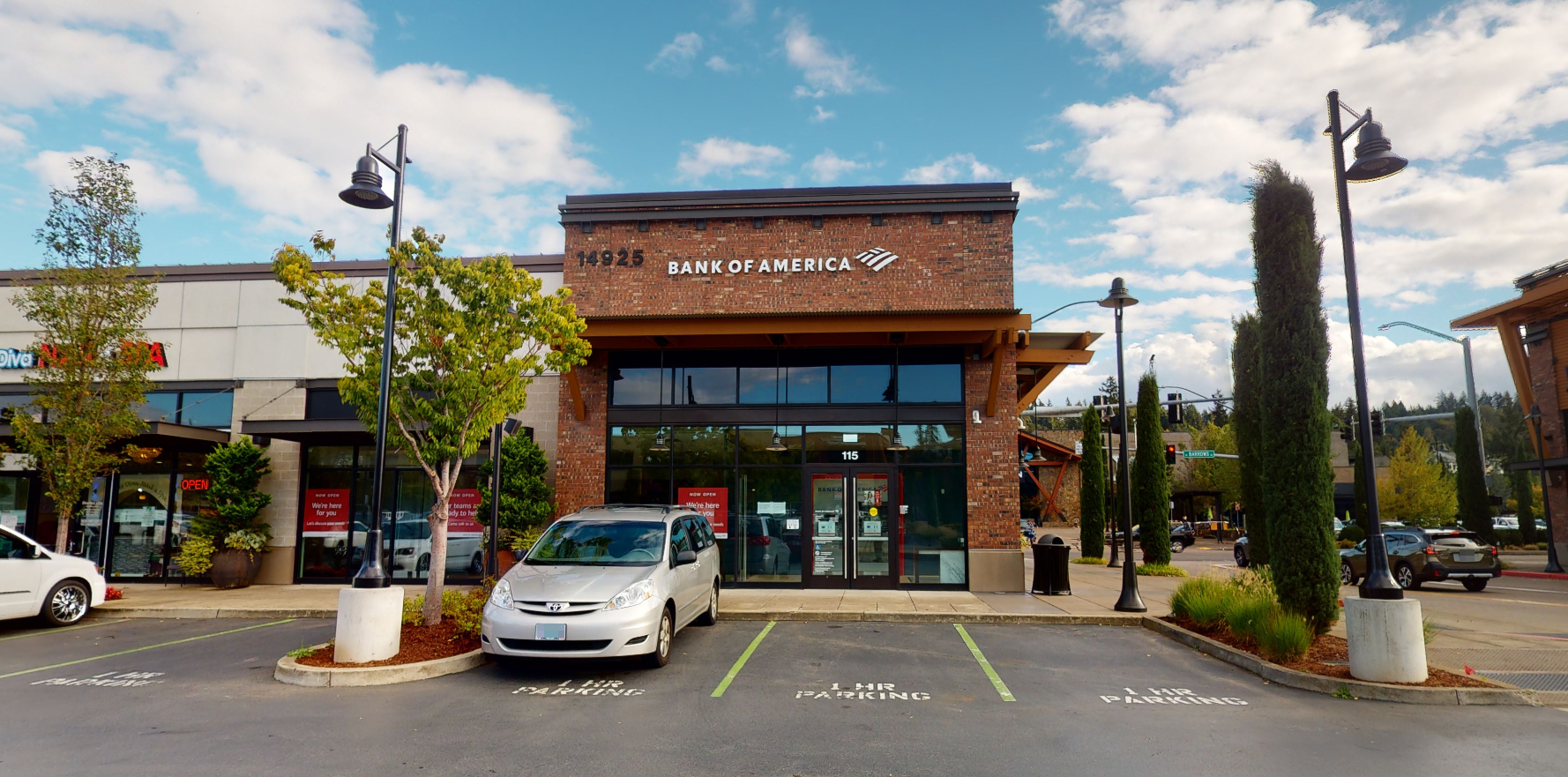Bank of America financial center with walk-up ATM   14925 SW Barrows Rd STE 115, Beaverton, OR 97007