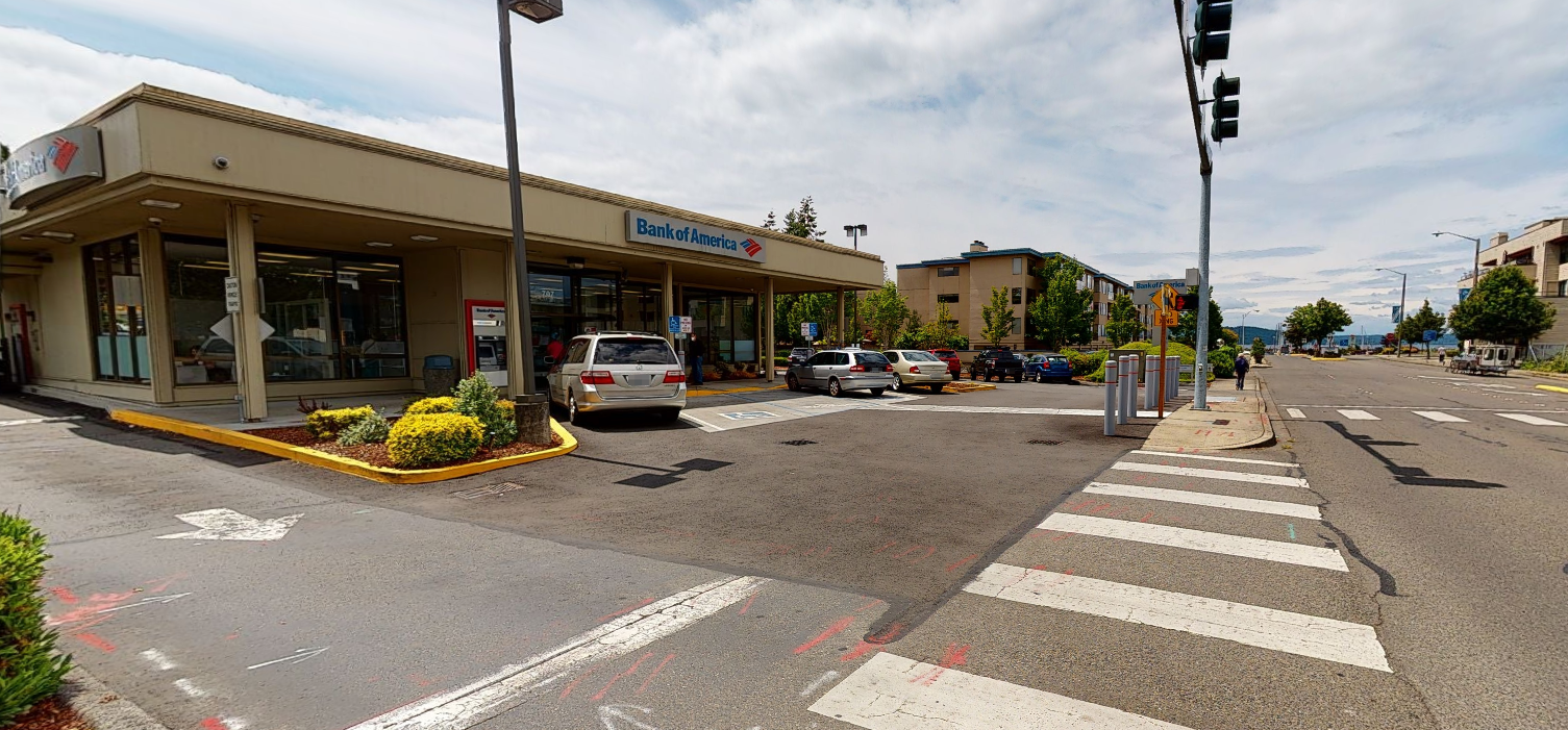 Bank of America financial center with drive-thru ATM | 707 S 227th St, Des Moines, WA 98198