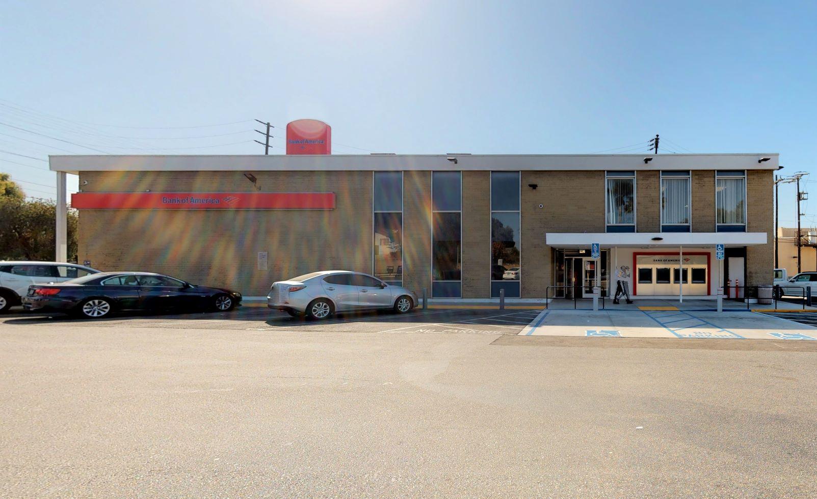 Bank of America financial center with walk-up ATM   6611 La Cienega Westway St, Los Angeles, CA 90056