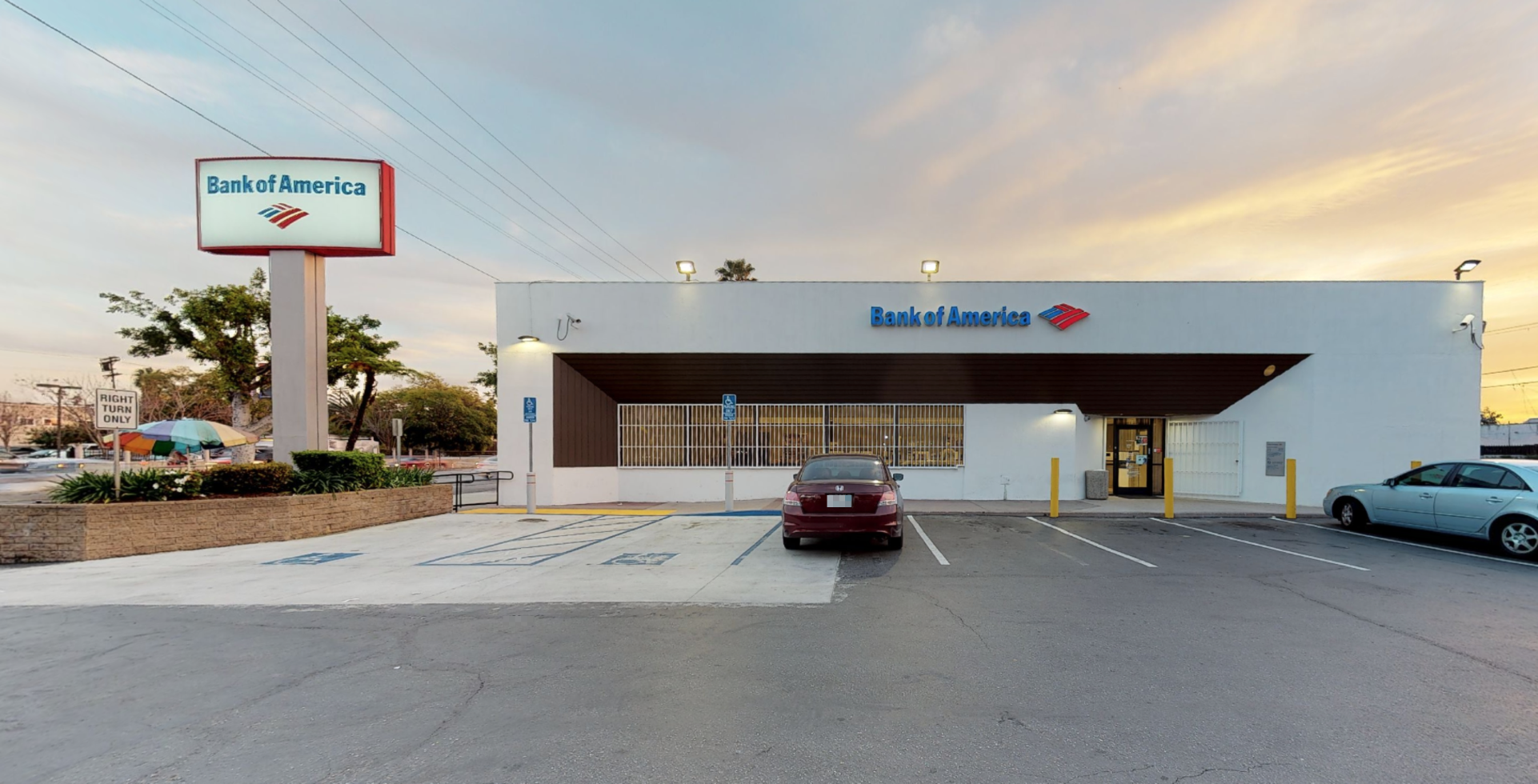 Bank of America financial center with drive-thru ATM   2907 Crenshaw Blvd, Los Angeles, CA 90016