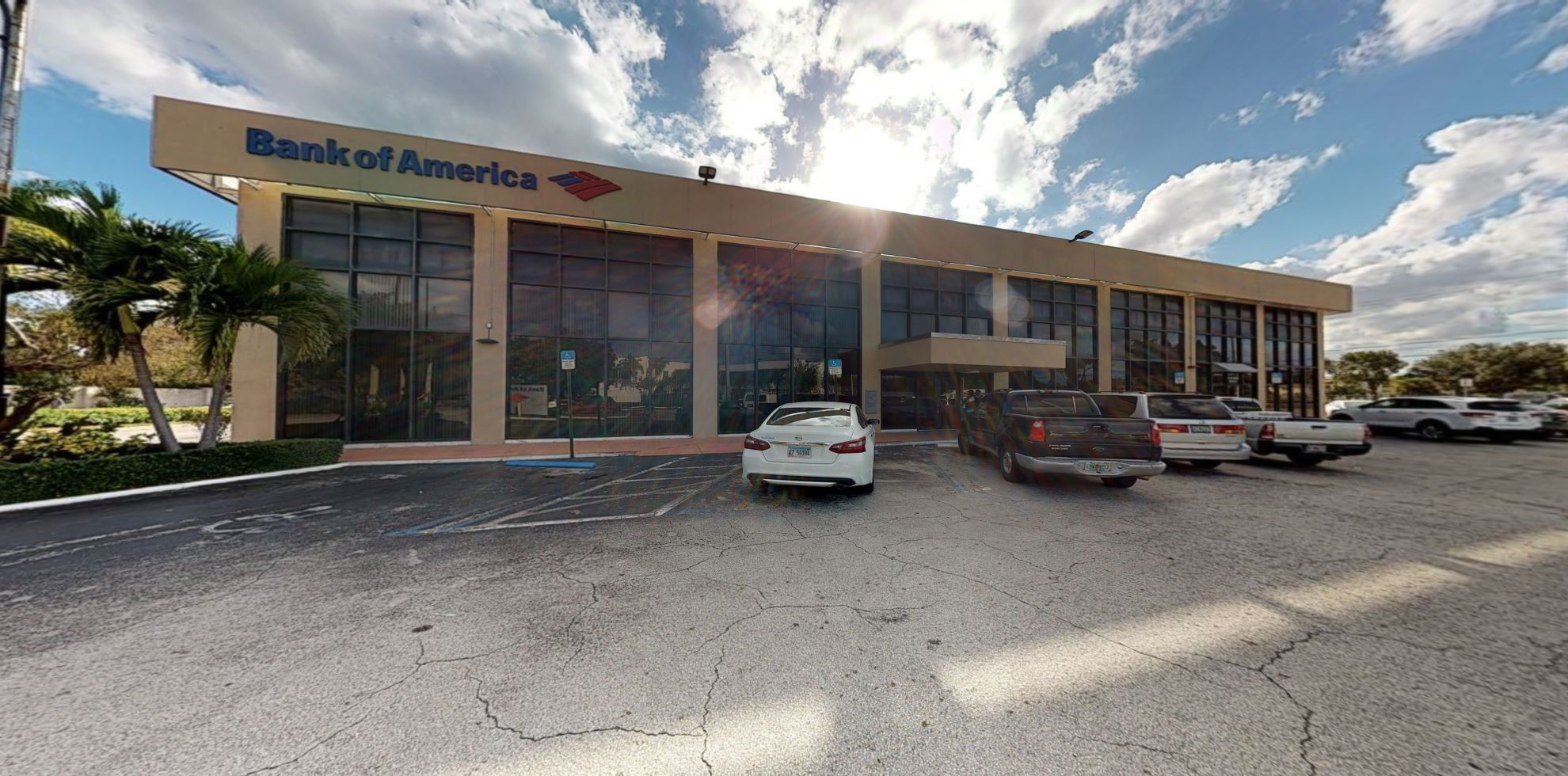Bank of America financial center with drive-thru ATM   5000 Biscayne Blvd, Miami, FL 33137