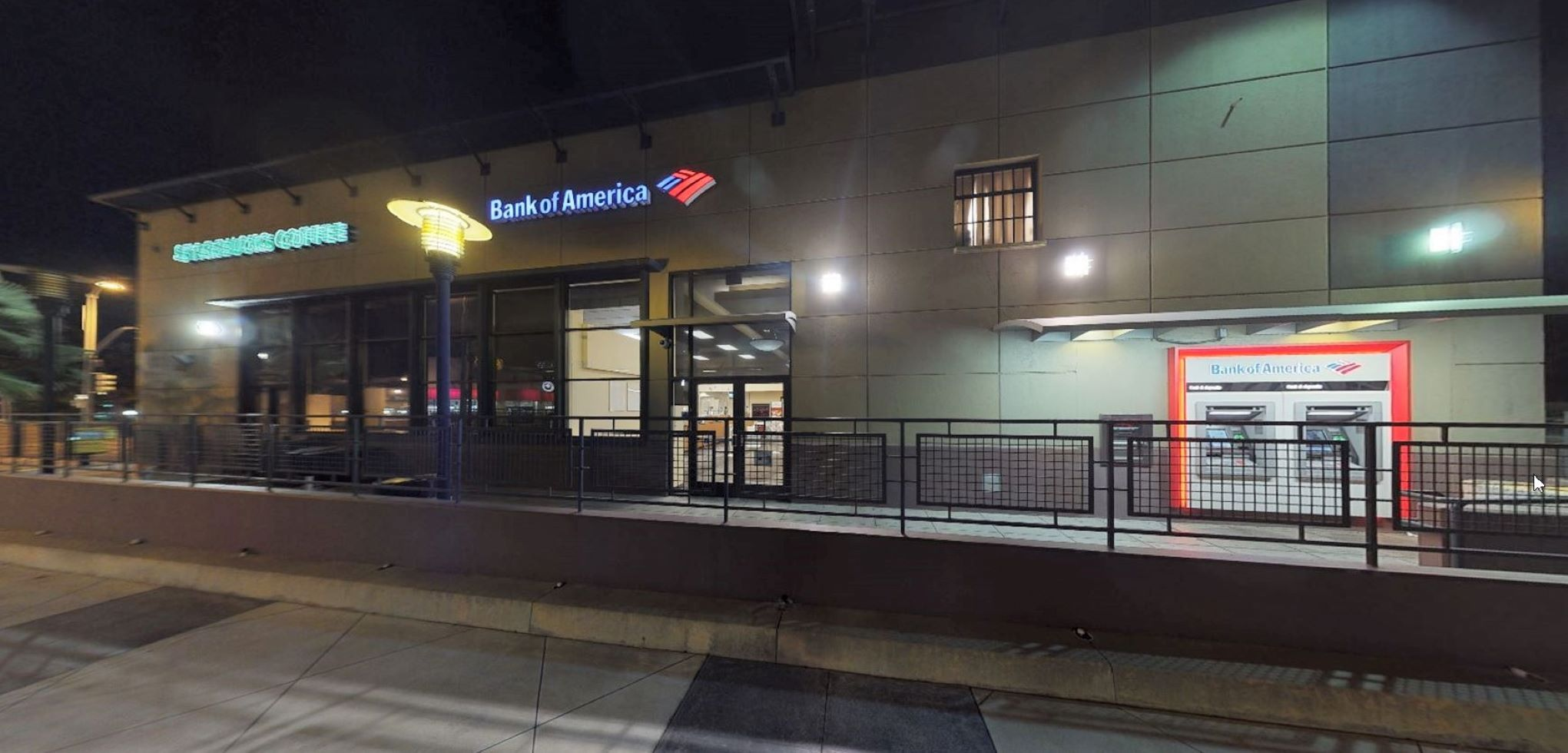 Bank of America financial center with walk-up ATM   1687 E Colorado Blvd, Pasadena, CA 91106
