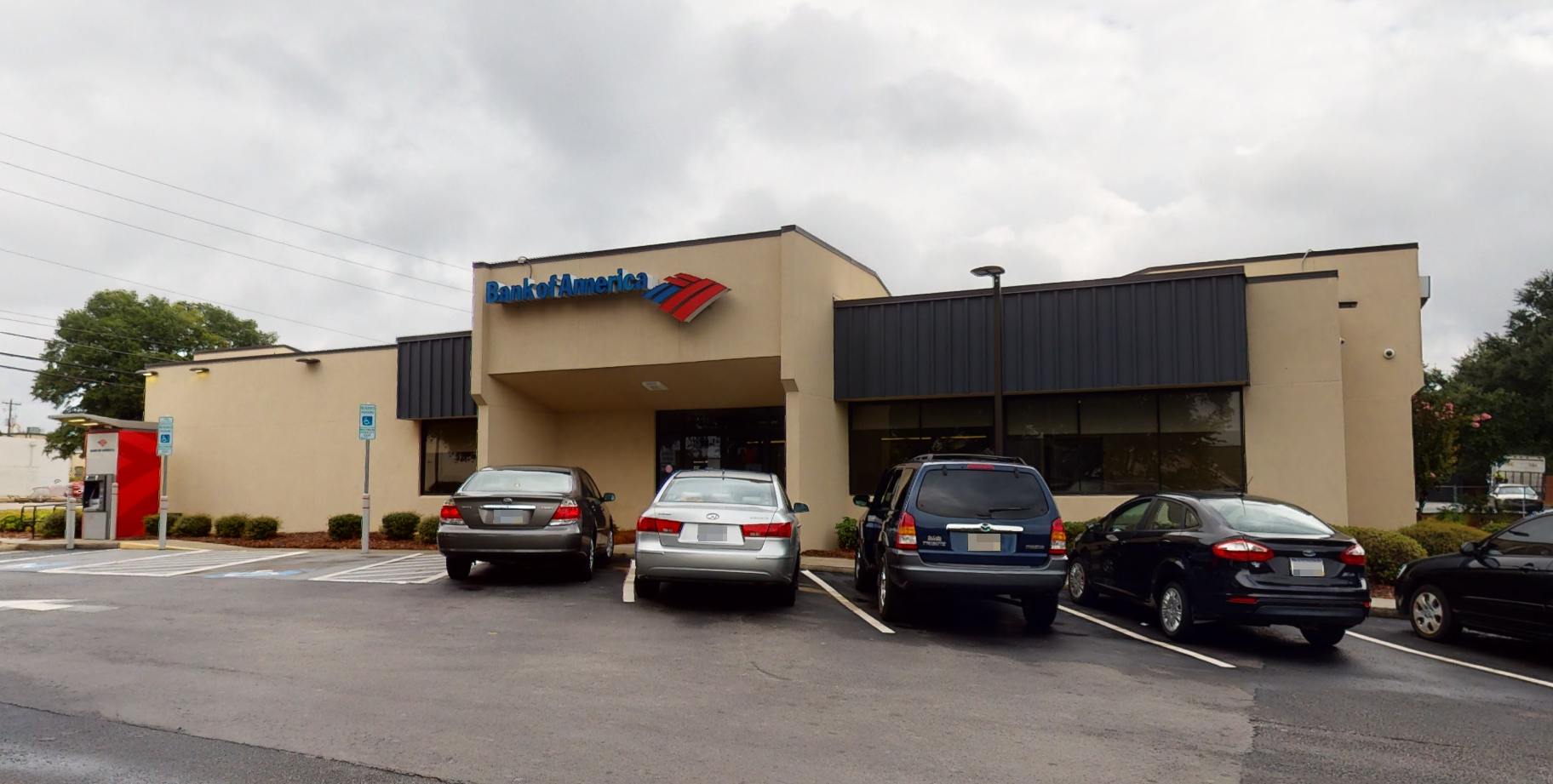 Bank of America financial center with drive-thru ATM and teller   330 Bush River Rd, Columbia, SC 29210