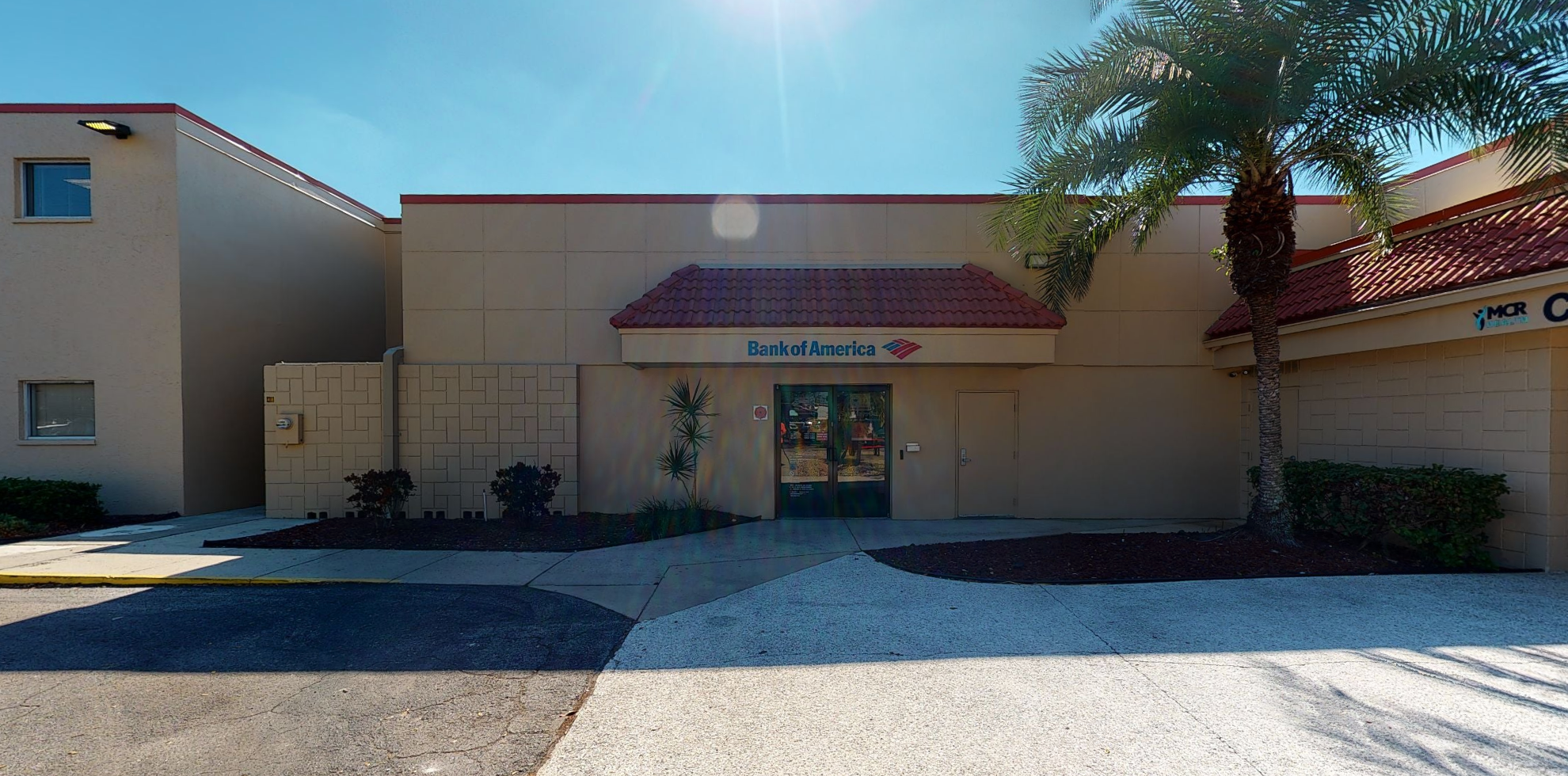 Bank of America financial center with drive-thru ATM   700 8th Ave W, Palmetto, FL 34221