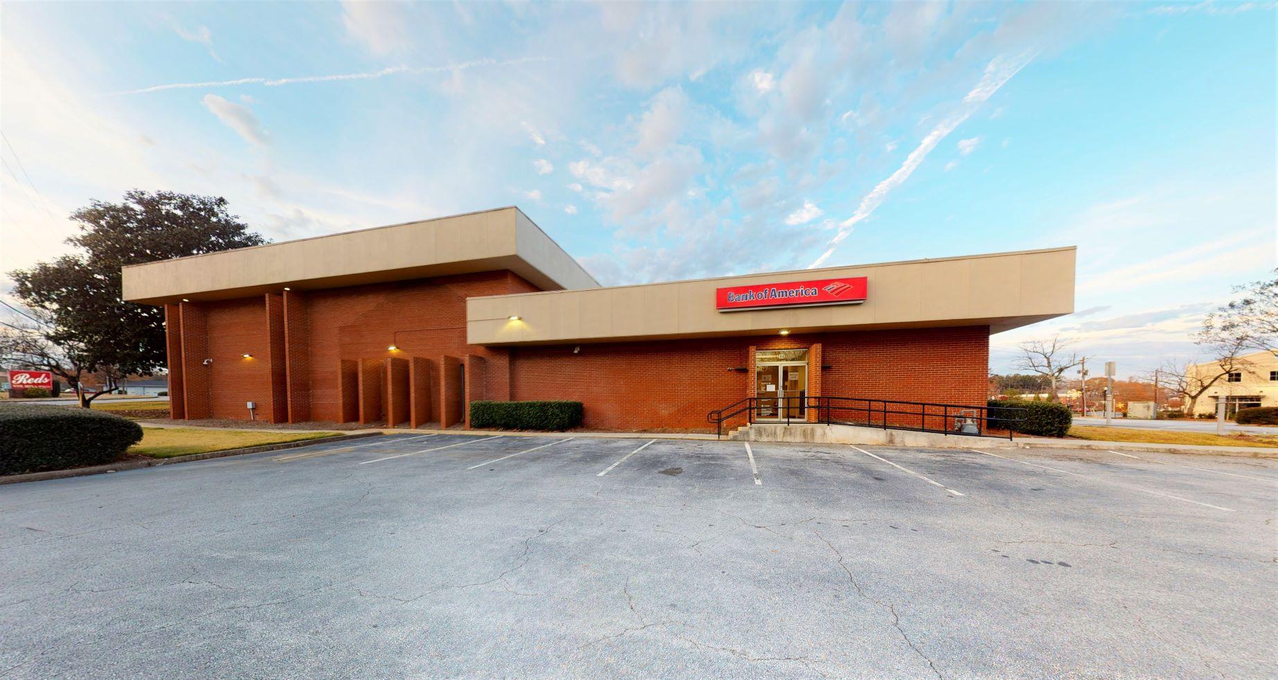 Bank of America financial center with walk-up ATM | 244 S Main St, Alpharetta, GA 30009