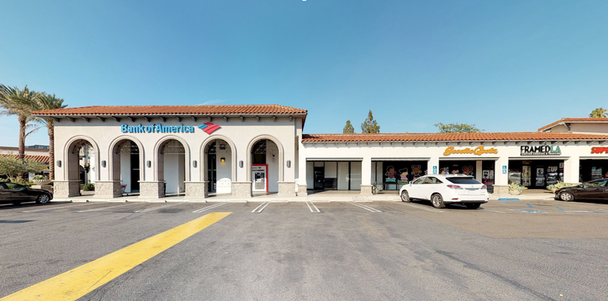 Bank of America financial center with walk-up ATM   23347 Mulholland Dr, Woodland Hills, CA 91364