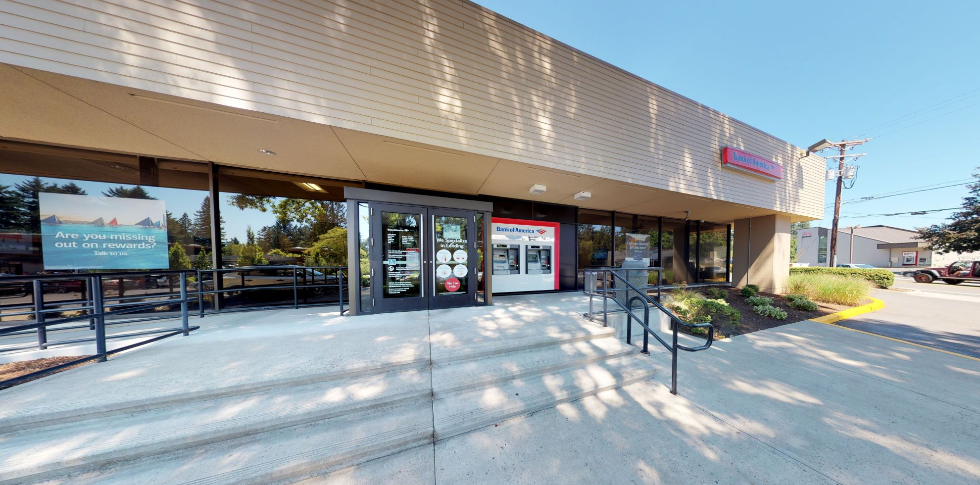 Bank of America financial center with drive-thru ATM | 16209 Bryant Rd, Lake Oswego, OR 97035