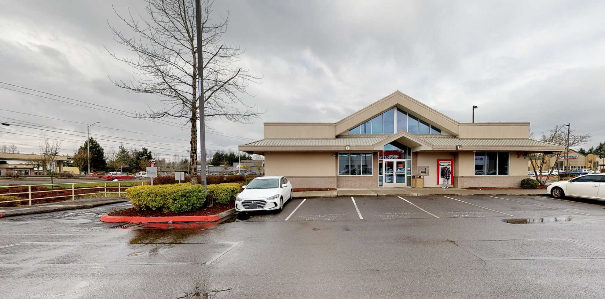 Bank of America financial center with drive-thru ATM | 12994 SE Kent Kangley Rd, Kent, WA 98030