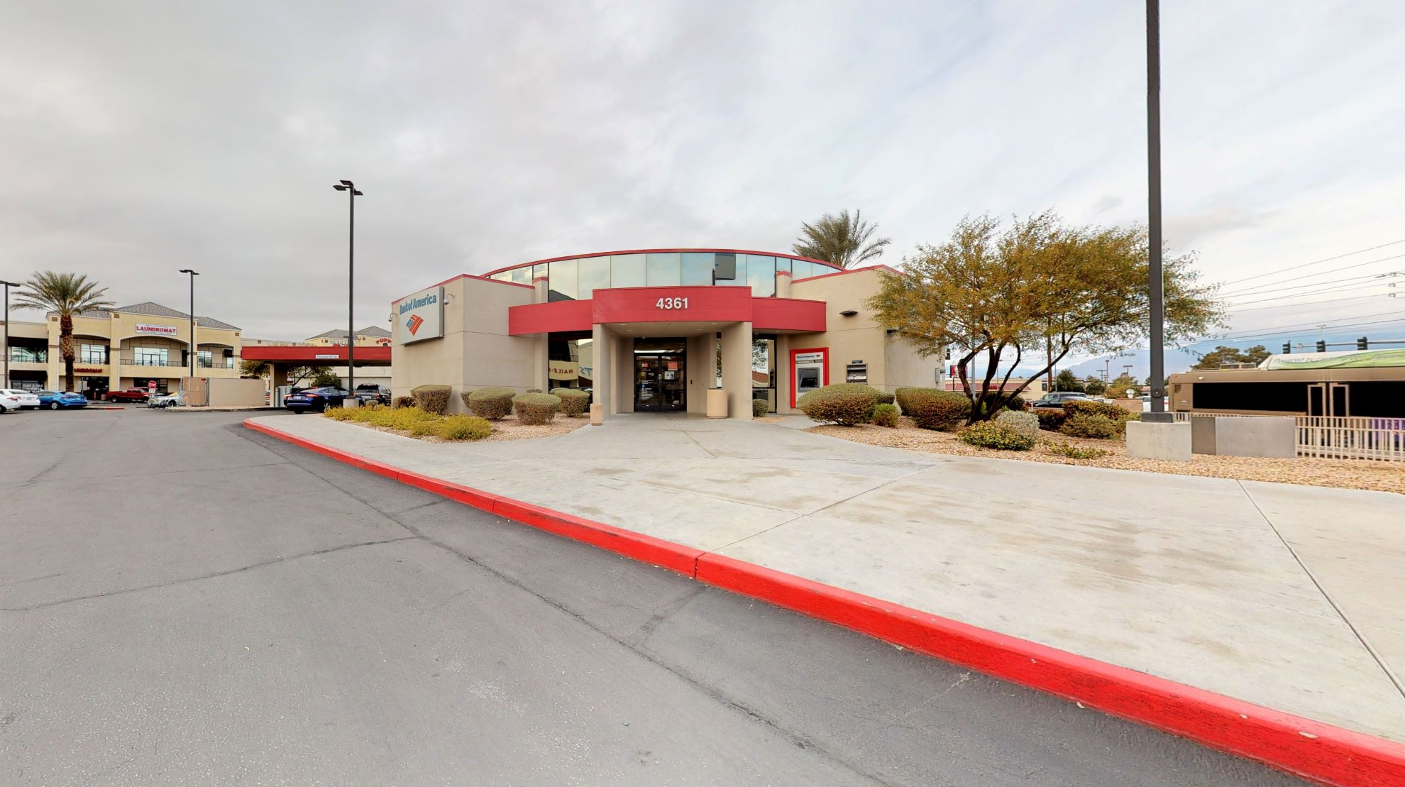 Bank of America financial center with drive-thru ATM | 4361 N Rancho Dr, Las Vegas, NV 89130