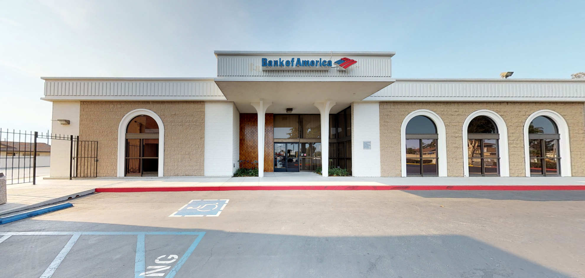 Bank of America financial center with drive-thru ATM | 9801 Walker St, Cypress, CA 90630