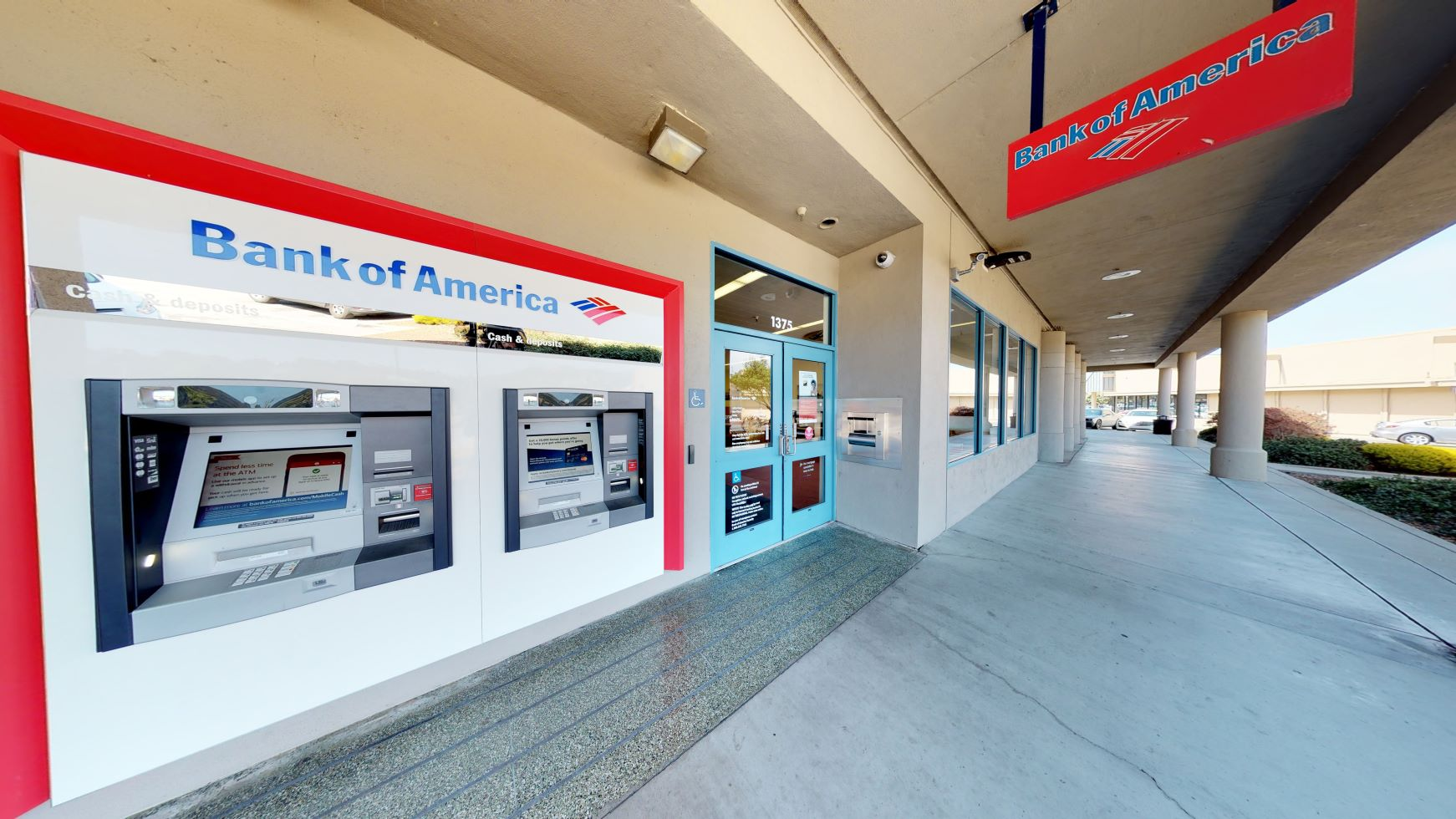 Bank of America financial center with walk-up ATM | 1375 Linda Mar Shopping Ctr, Pacifica, CA 94044