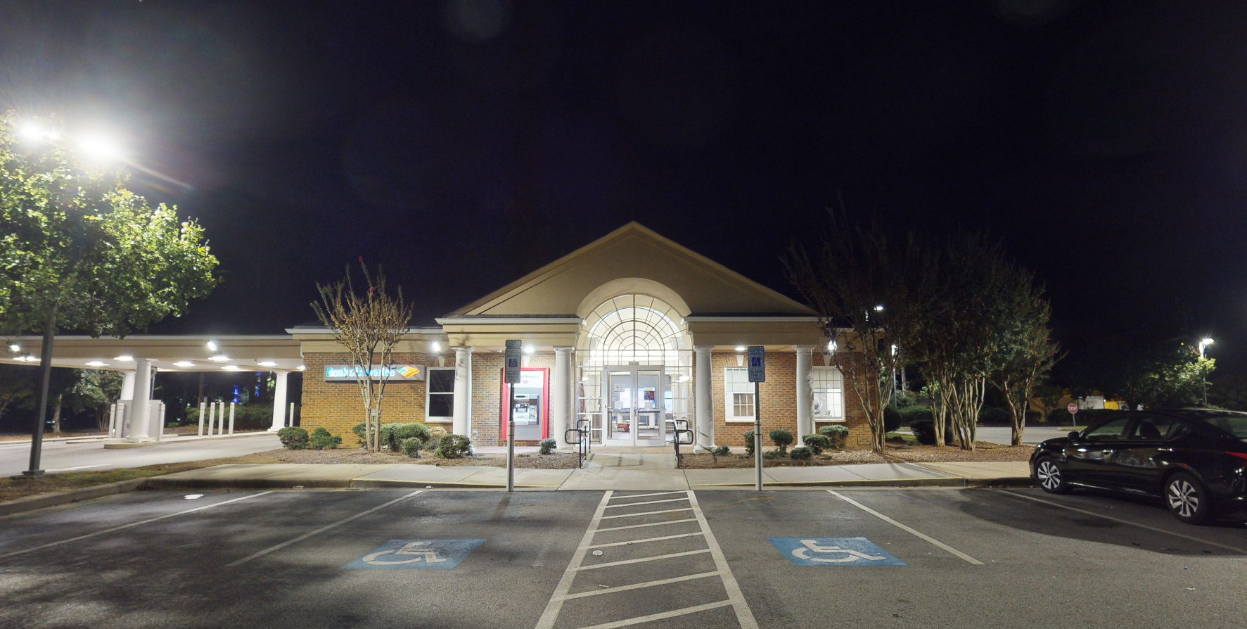 Bank of America financial center with drive-thru ATM and teller | 5559 Sunset Blvd, Lexington, SC 29072