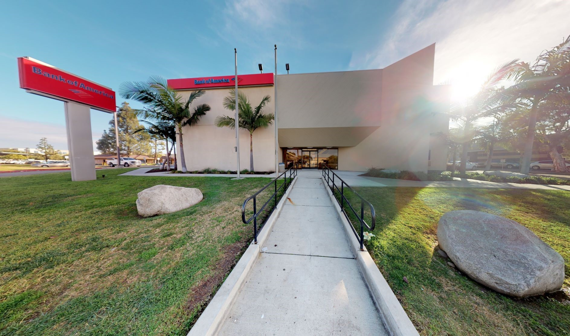 Bank of America financial center with walk-up ATM   8949 Clairemont Mesa Blvd, San Diego, CA 92123