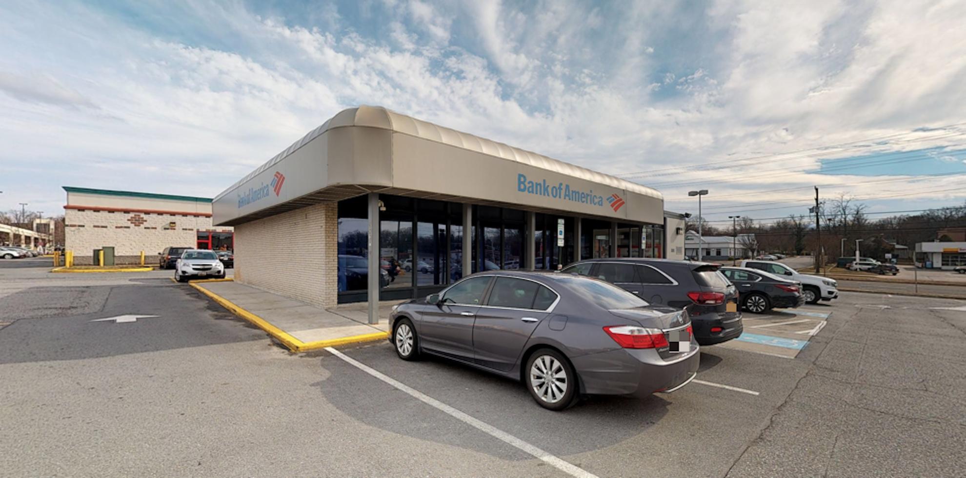 Bank of America financial center with drive-thru ATM   6038 Greenbelt Rd, Greenbelt, MD 20770