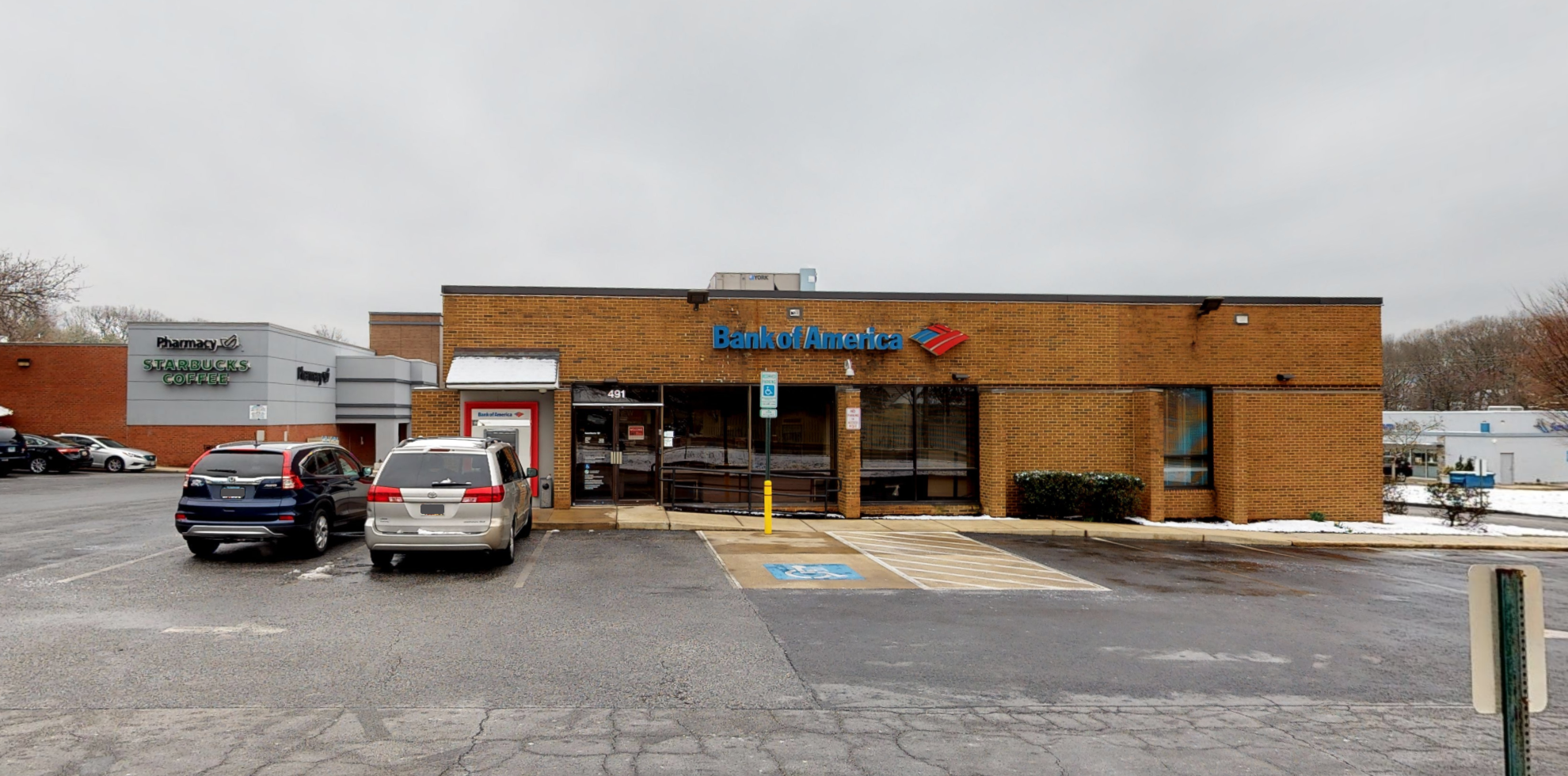 Bank of America financial center with drive-thru ATM | 491 Jumpers Hole Rd, Severna Park, MD 21146