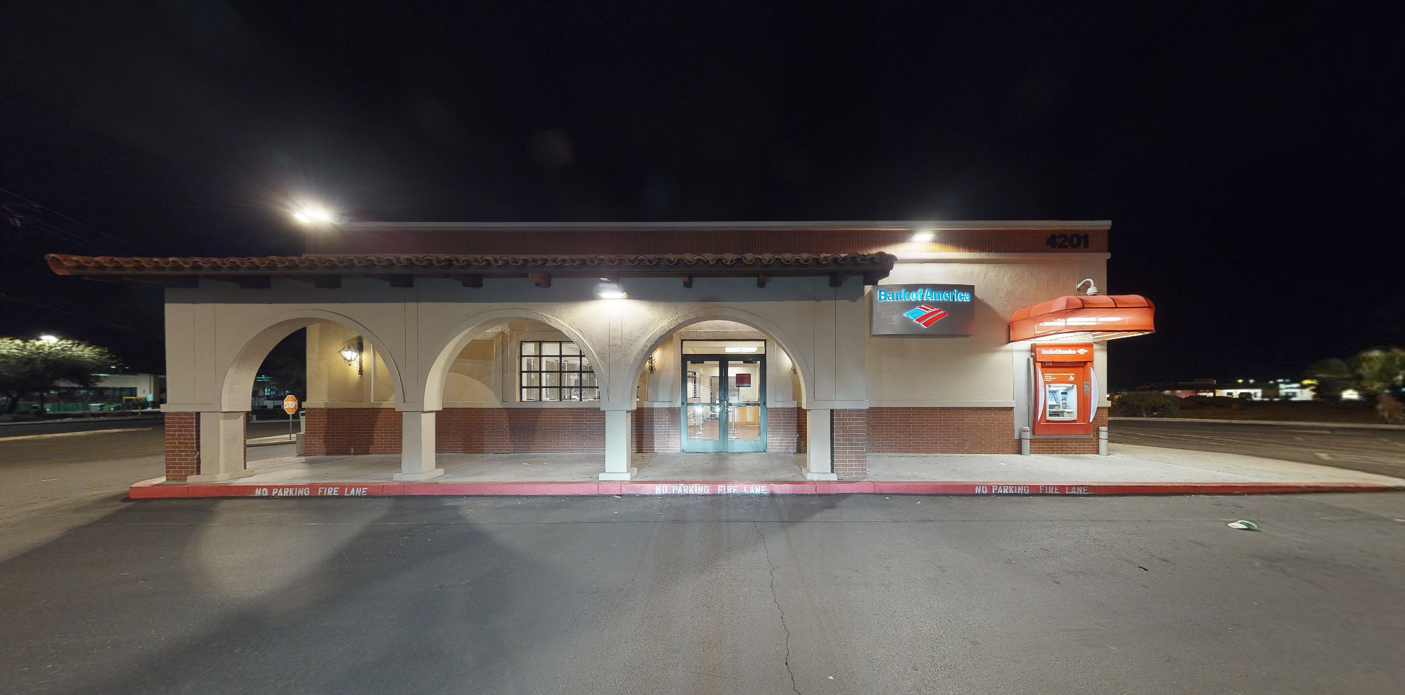 Bank of America financial center with drive-thru ATM   4201 N Oracle Rd, Tucson, AZ 85705