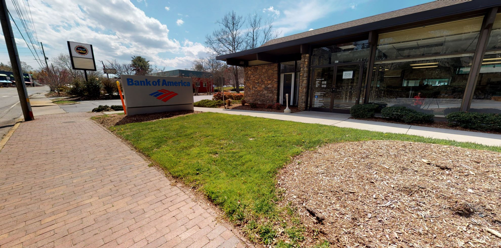 Bank of America financial center with drive-thru ATM and teller | 892 Merrimon Ave, Asheville, NC 28804