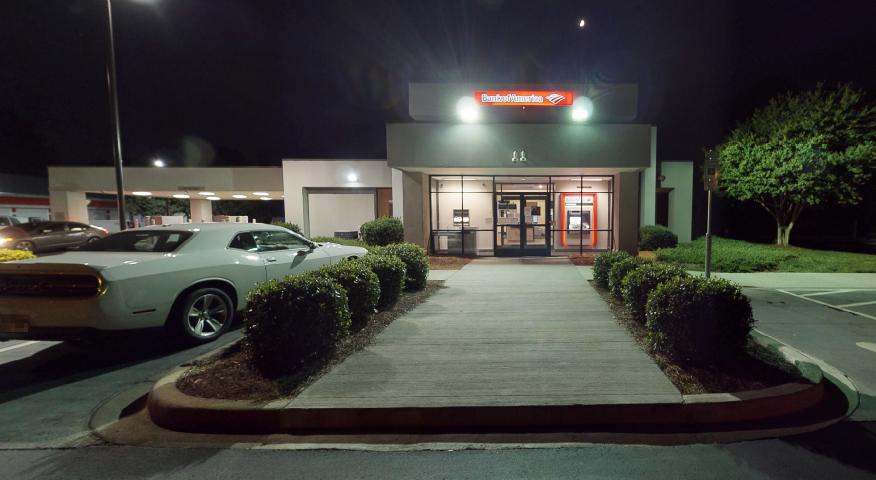 Bank of America financial center with drive-thru ATM | 2405 Freedom Dr, Charlotte, NC 28208
