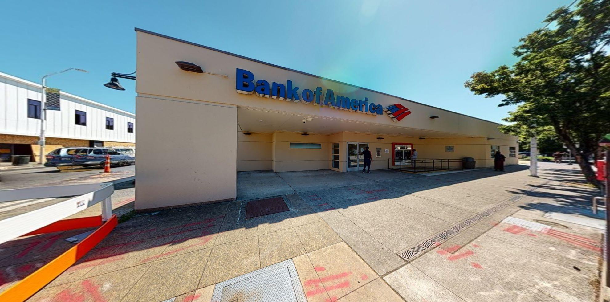 Bank of America financial center with walk-up ATM   300 Burnett Ave S, Renton, WA 98057