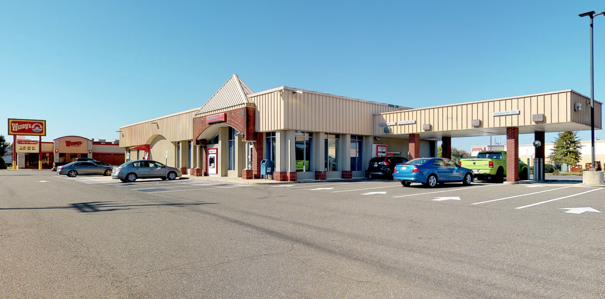 Bank of America financial center with drive-thru ATM   8901 Woodyard Rd, Clinton, MD 20735
