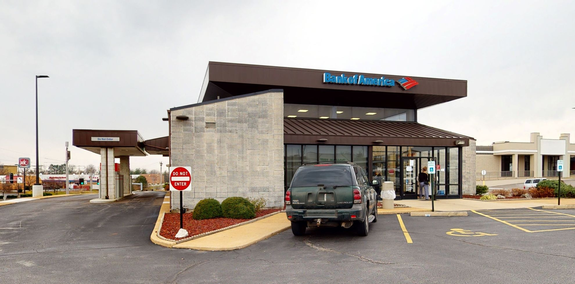 Bank of America financial center with drive-thru ATM   4495 Lemay Ferry Rd, Saint Louis, MO 63129
