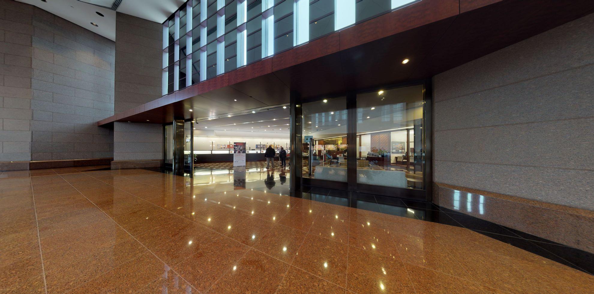 Bank of America financial center with walk-up ATM   600 Peachtree St NE, Atlanta, GA 30308