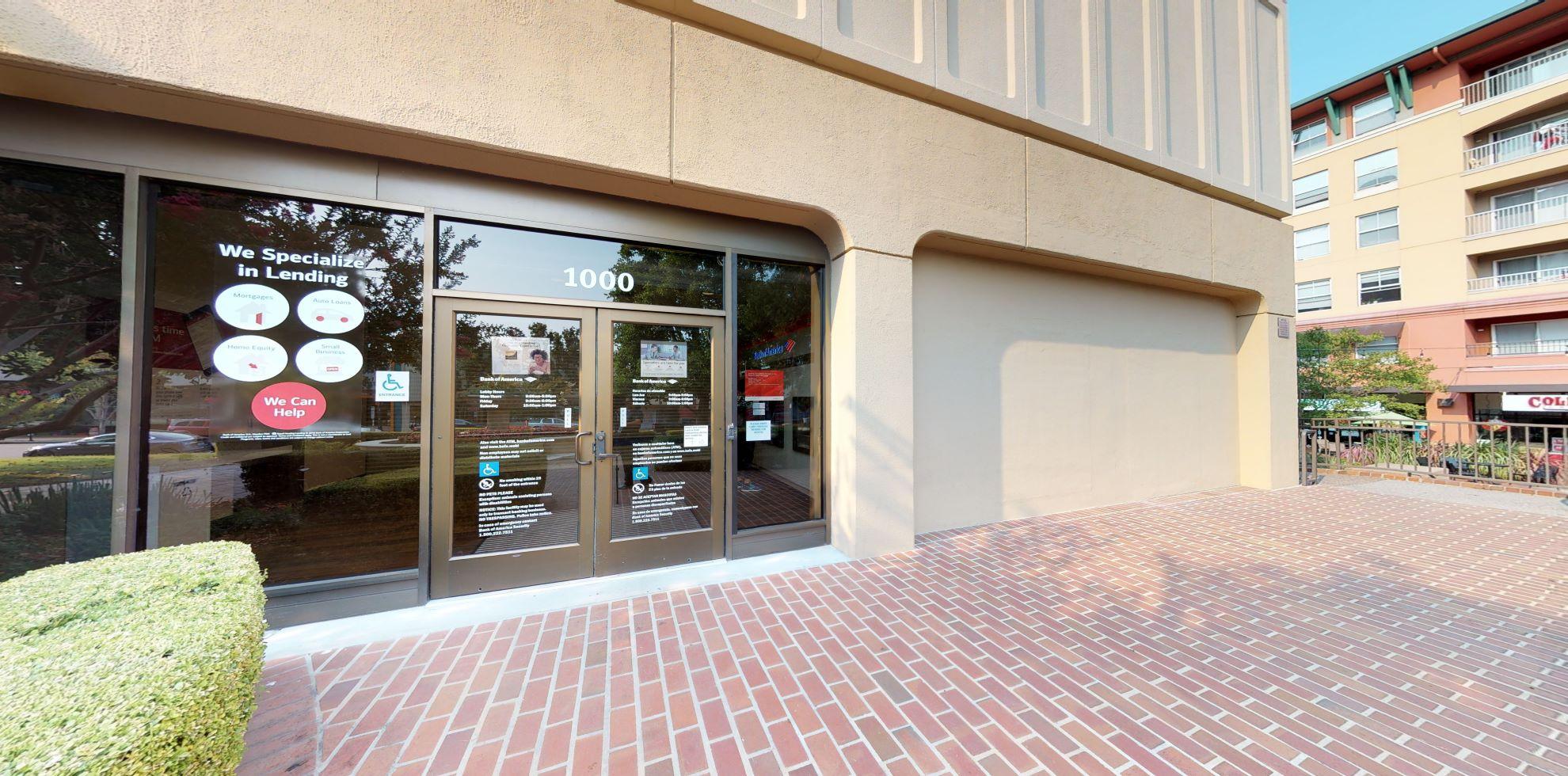 Bank of America financial center with drive-thru ATM | 1000 4th St, San Rafael, CA 94901