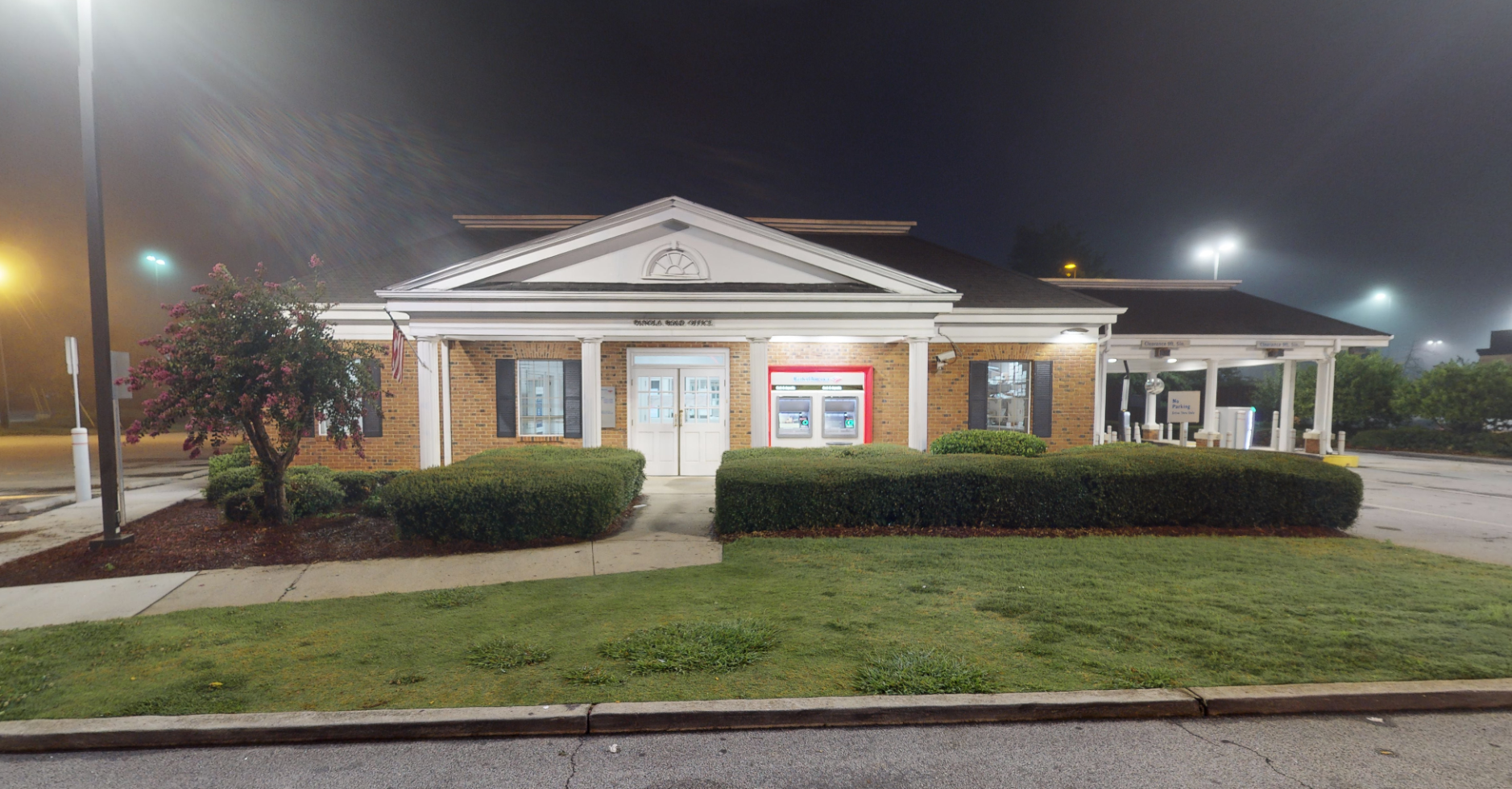 Bank of America financial center with drive-thru ATM and teller   6138 Covington Hwy, Lithonia, GA 30058