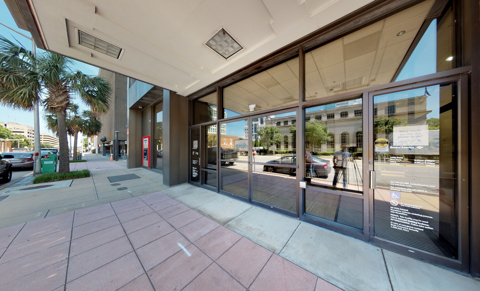 Bank of America financial center with drive-thru ATM | 1301 Gervais St, Columbia, SC 29201