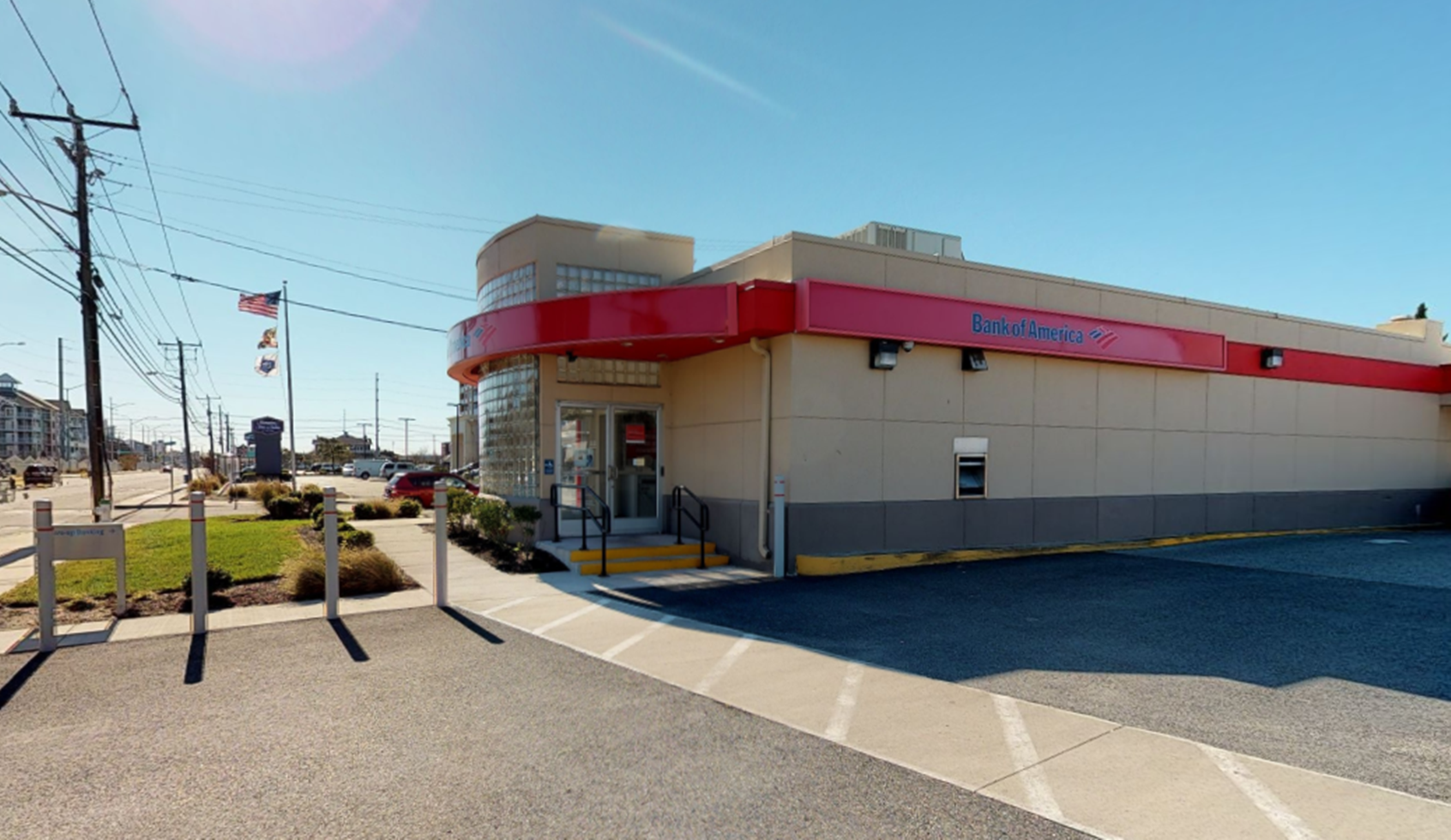 Bank of America financial center with drive-thru ATM | 4401 Coastal Hwy, Ocean City, MD 21842