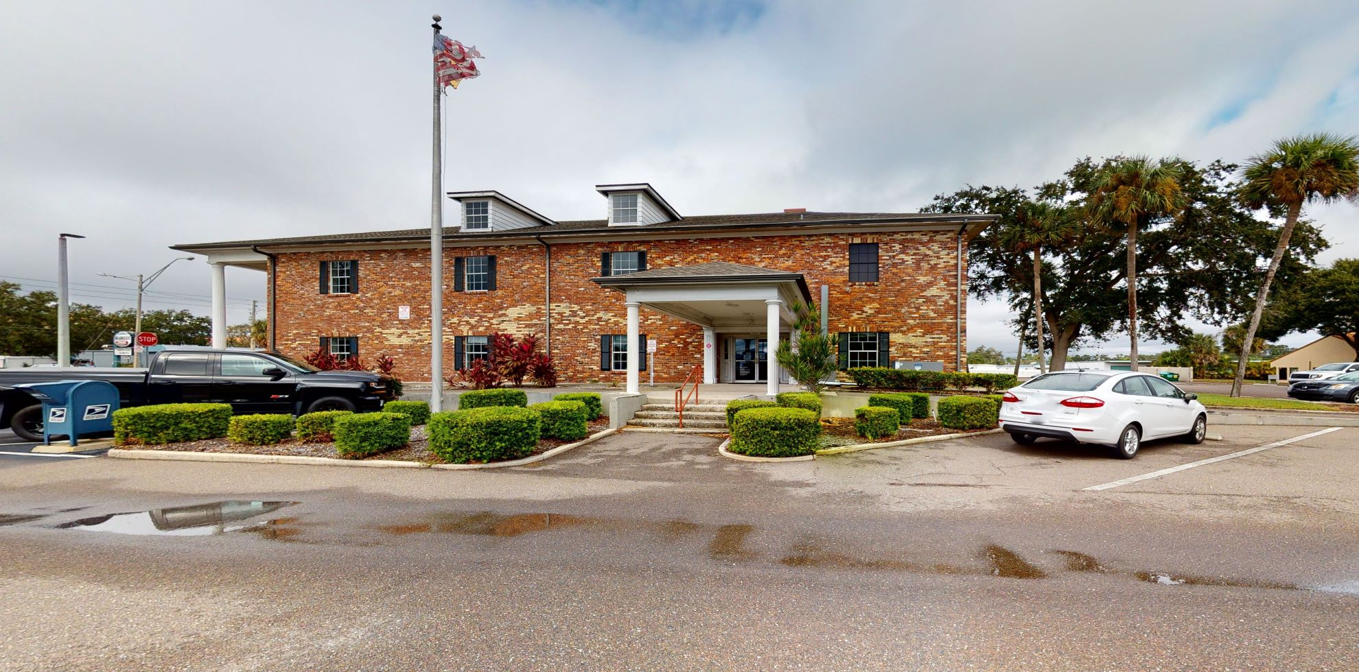 Bank of America financial center with drive-thru ATM   6801 Seminole Blvd, Seminole, FL 33772