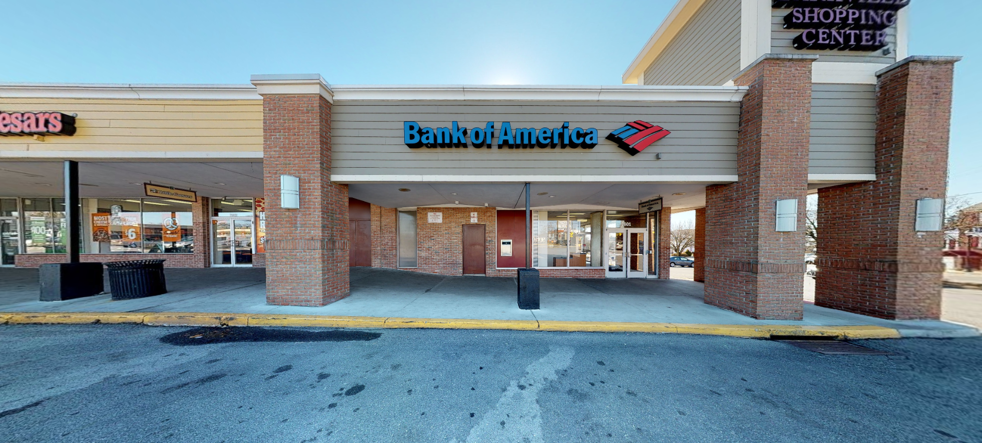 Bank of America financial center with drive-thru ATM   7601 Harford Rd, Baltimore, MD 21234