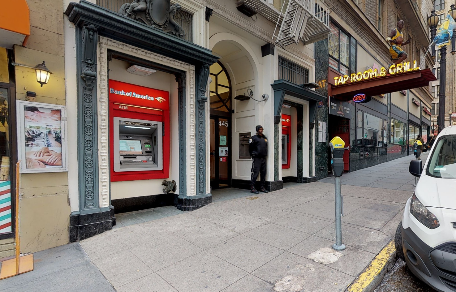 Bank of America financial center with walk-up ATM | 445 Powell St, San Francisco, CA 94102