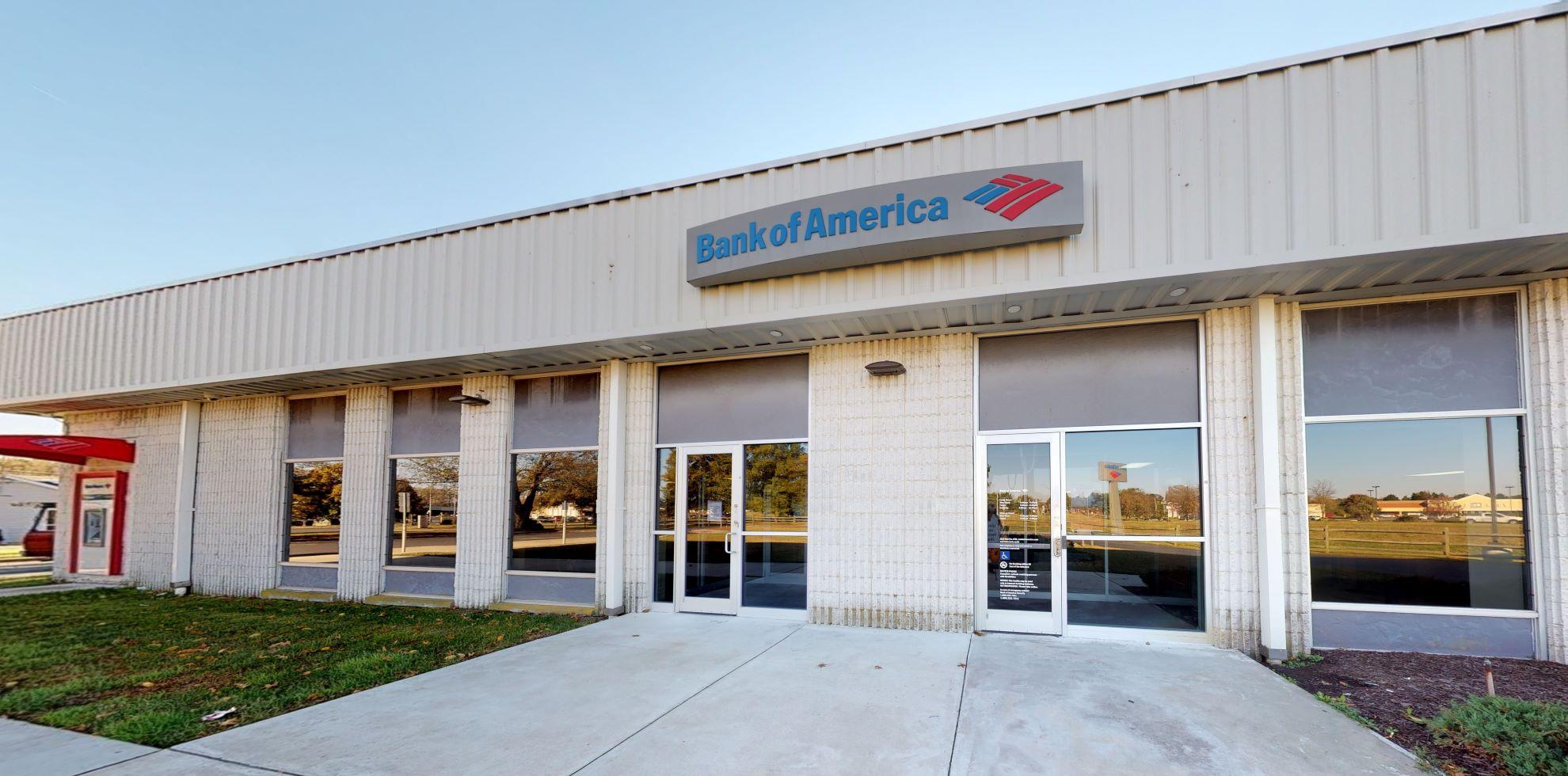 Bank of America financial center with drive-thru ATM   300 Tilghman Rd, Salisbury, MD 21804