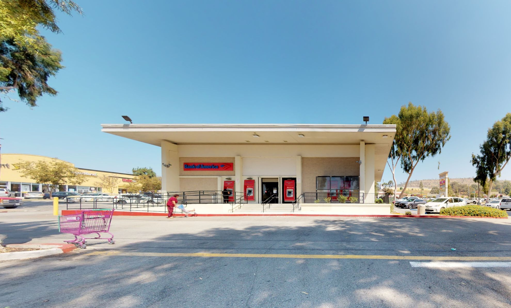 Bank of America financial center with walk-up ATM | 1520 E Amar Rd, West Covina, CA 91792