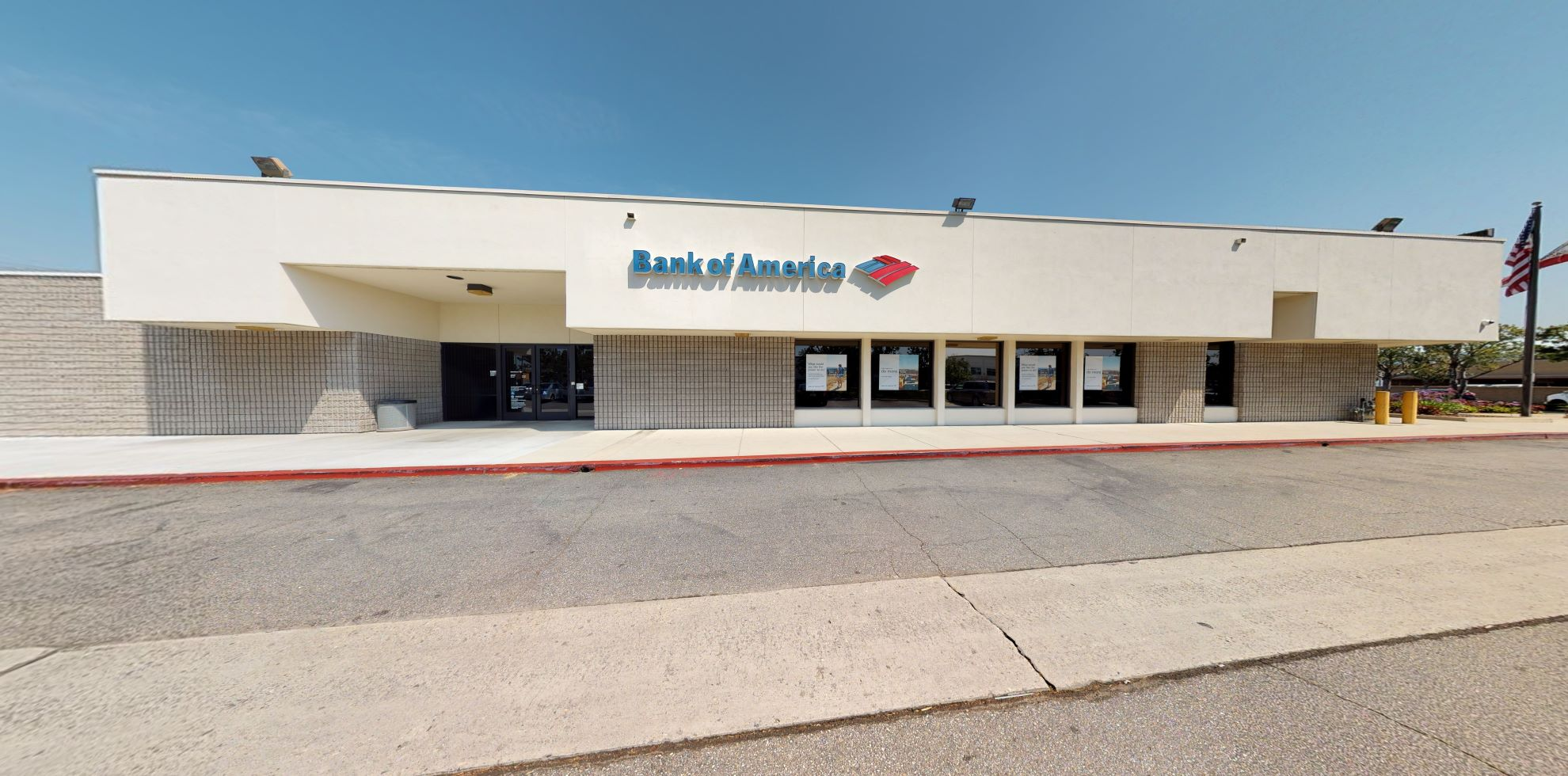 Bank of America financial center with drive-thru ATM | 200 S Lemon Ave, Walnut, CA 91789