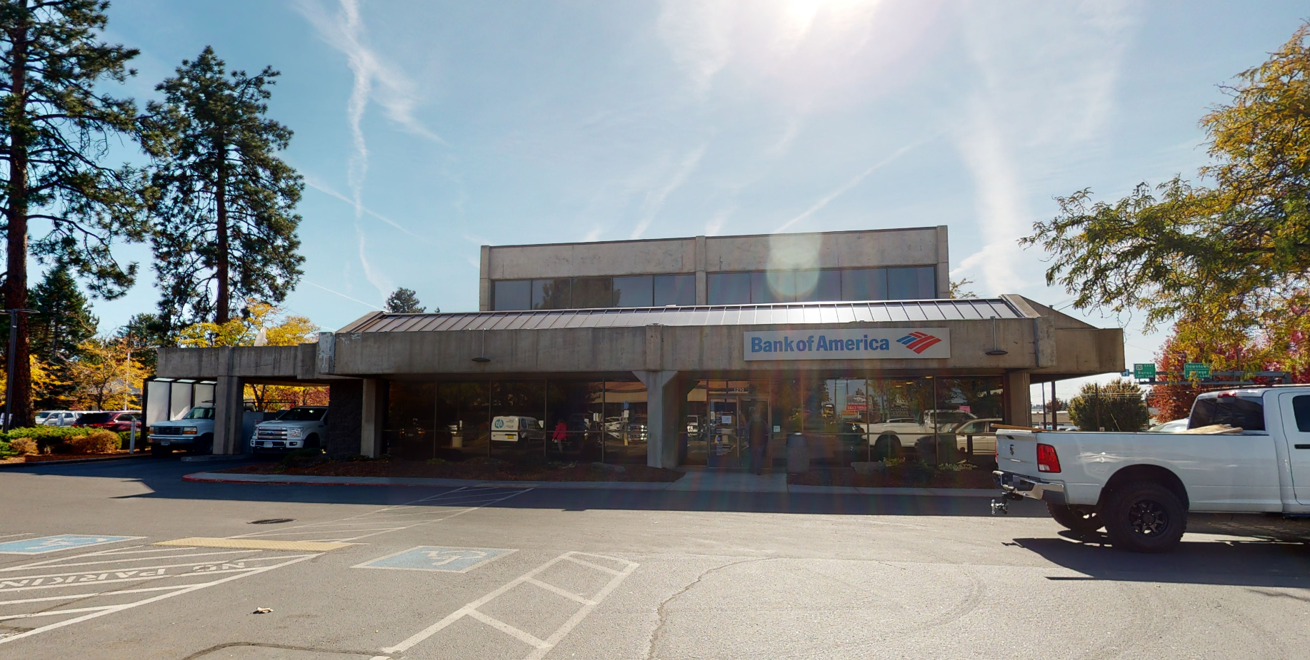 Bank of America financial center with drive-thru ATM and teller | 1210 NE 3rd St, Bend, OR 97701