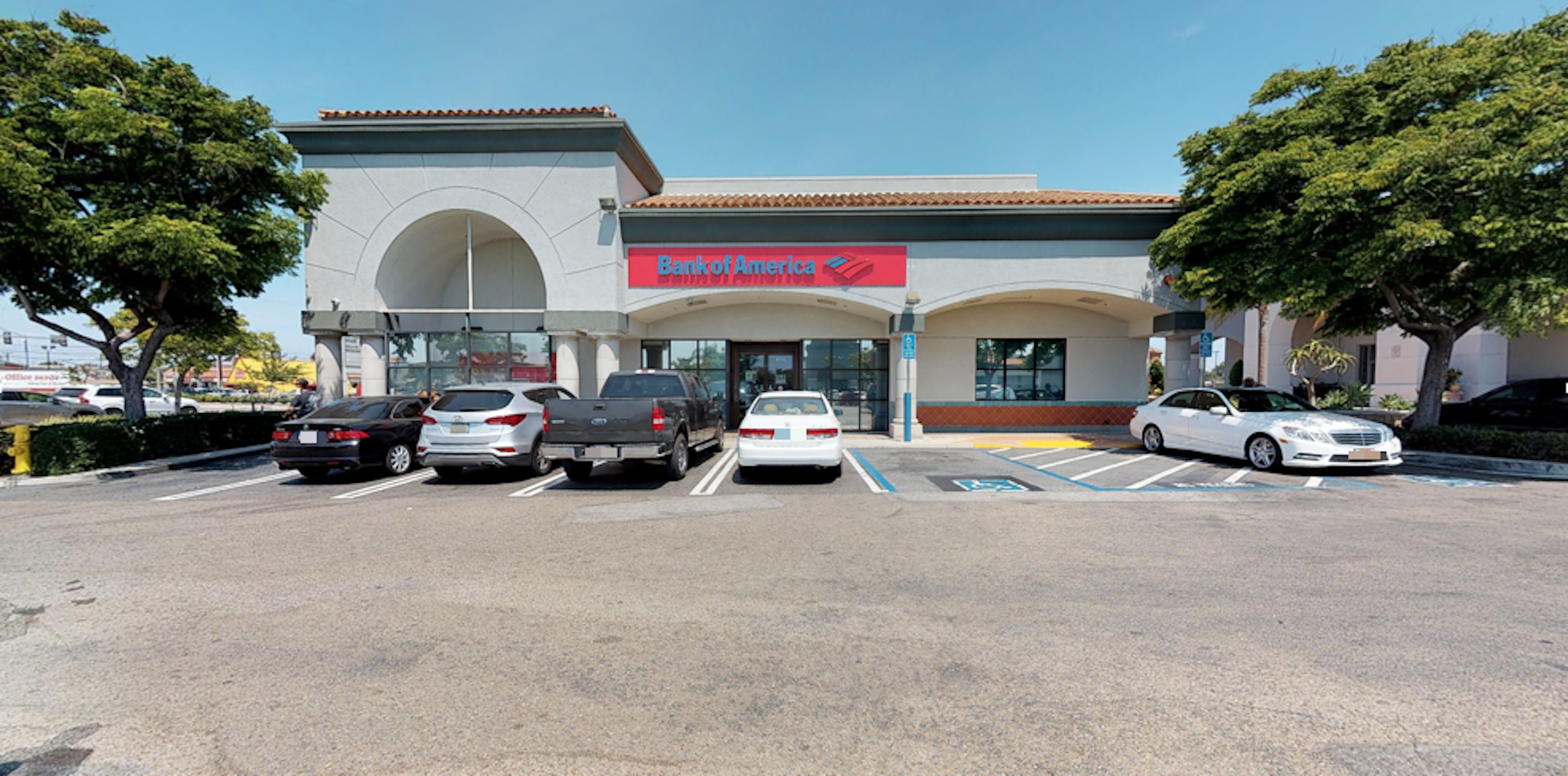 Bank of America financial center with walk-up ATM   6791 Westminster Blvd, Westminster, CA 92683