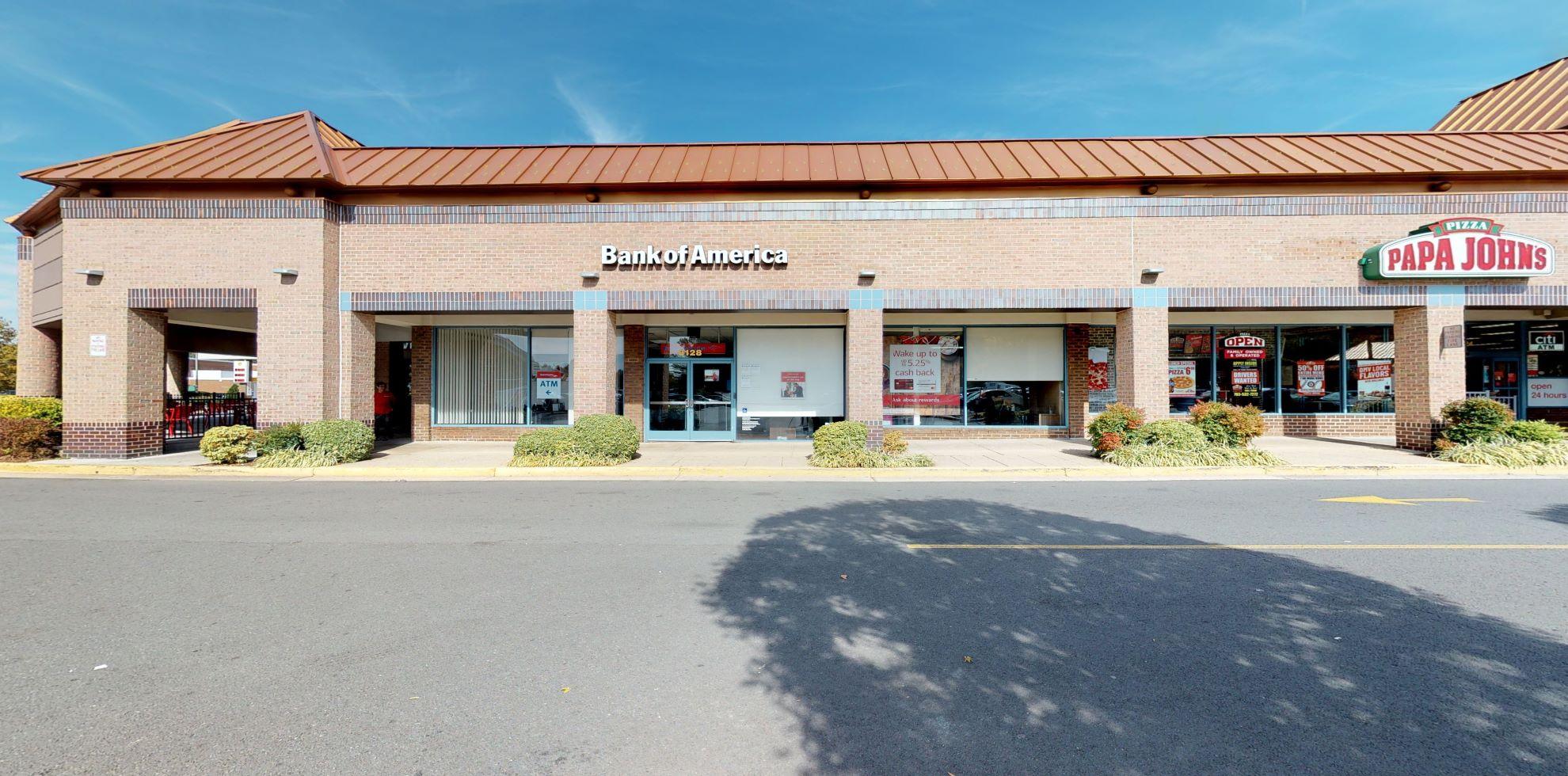 Bank of America financial center with walk-up ATM | 8128 Arlington Blvd, Falls Church, VA 22042
