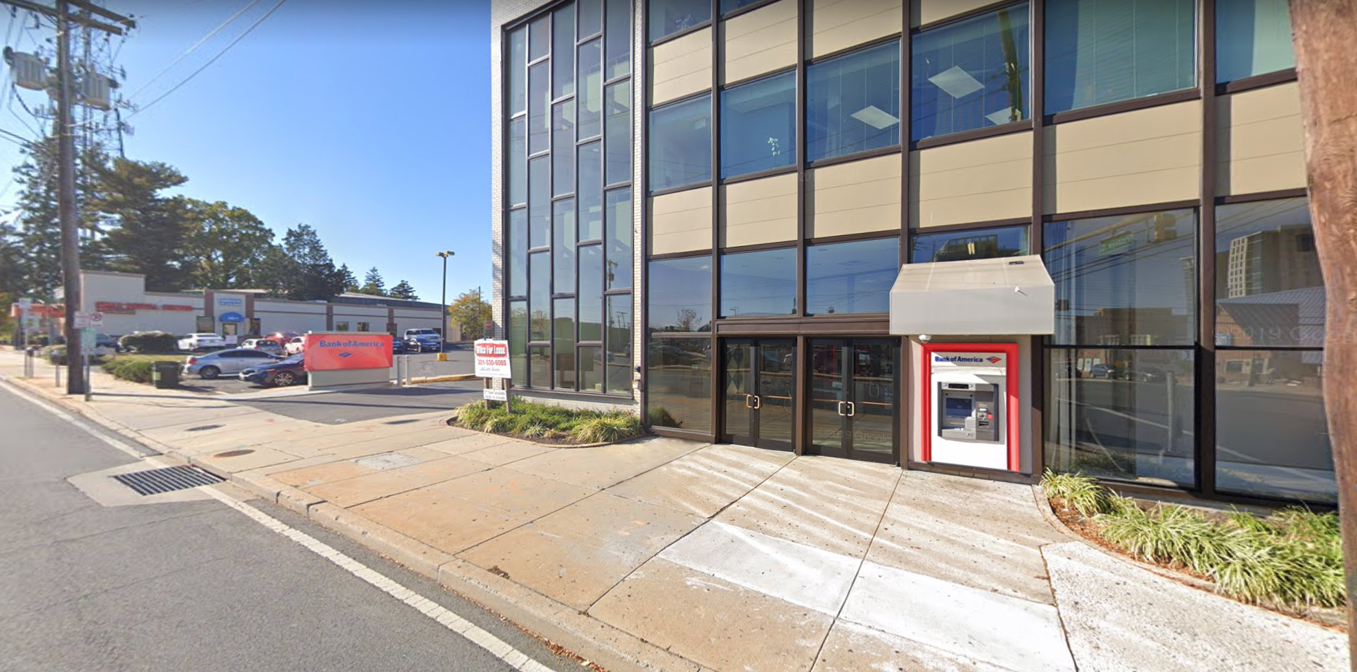 Bank of America financial center with drive-thru ATM and teller | 2601 University Blvd W, Wheaton, MD 20902