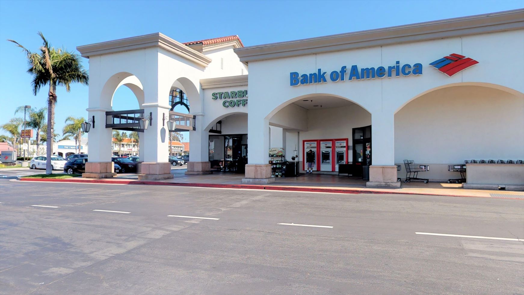 Bank of America financial center with walk-up ATM   2701 Harbor Blvd STE C2, Costa Mesa, CA 92626